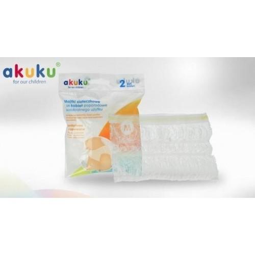 AKUKU Síťkované kalhotky XL, 2ks v balení, XL (42)
