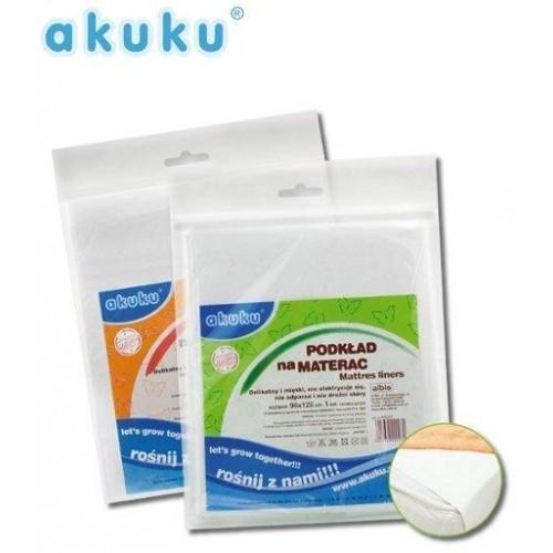 Nepromokavá podložka Akuku gumová 50x120 - střední tloušťka