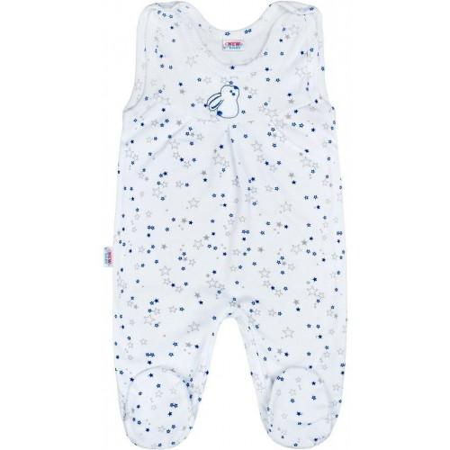 Kojenecké dupačky New Baby Magic Star modré Modrá 74 (6-9m)