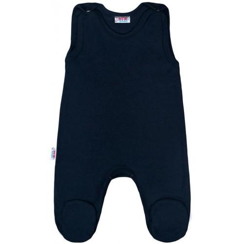 Kojenecké dupačky New Baby Classic II tmavě modré Modrá 68 (4-6m)