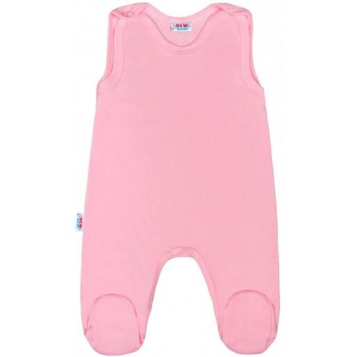 Kojenecké dupačky New Baby Classic II růžové Růžová 80 (9-12m)