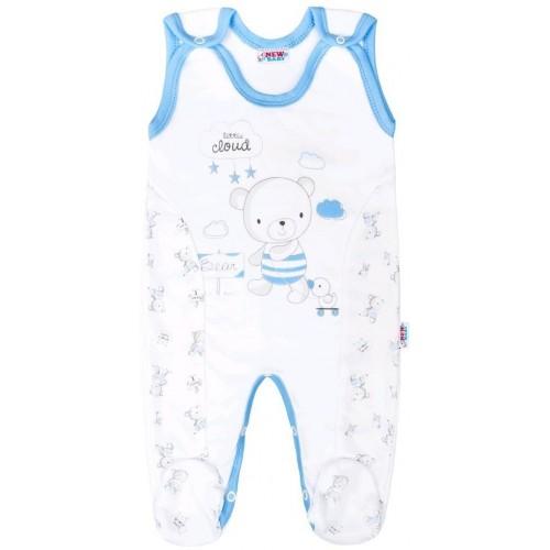 Kojenecké dupačky New Baby Bears modré Modrá 74 (6-9m)