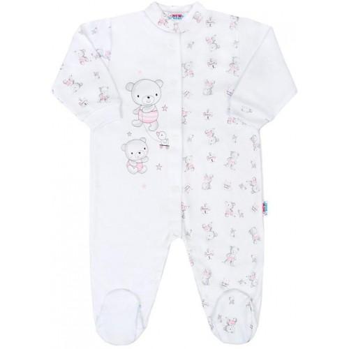 Kojenecký overal New Baby Bears růžový Růžová 56 (0-3m)