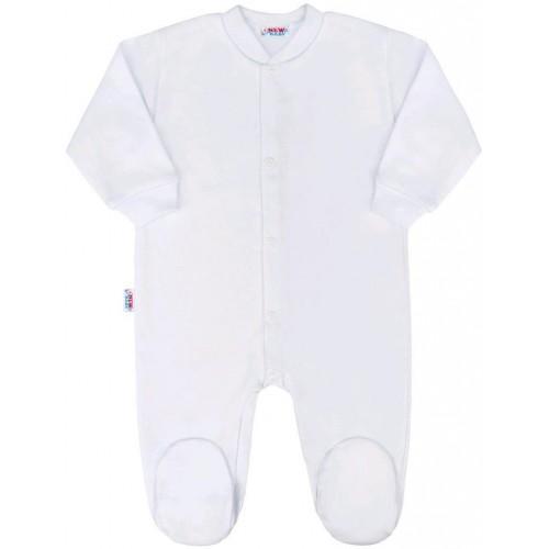 Kojenecký overal New Baby Classic bílý Bílá 50