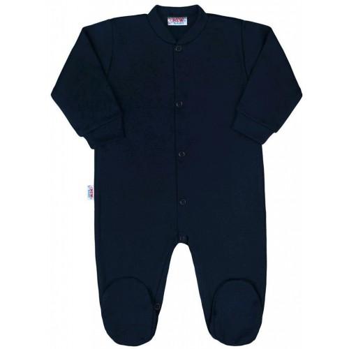 Kojenecký overal New Baby Classic II tmavě modrý Modrá 56 (0-3m)