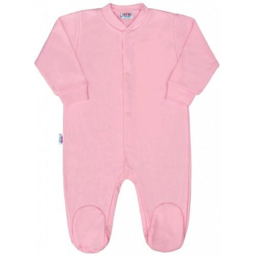 Kojenecký overal New Baby Classic II růžový Růžová 62 (3-6m)