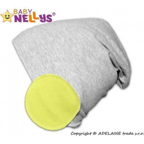 Baby Nellys Bavlněná čepice Bubble - lemon, 48/50 čepičky obvod