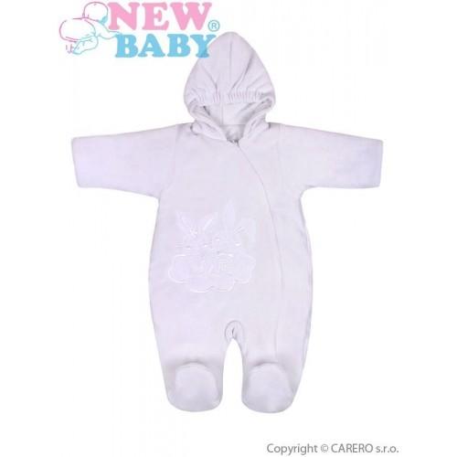 Zimní overal New Baby Bunnies bílý Bílá 68 (4-6m)