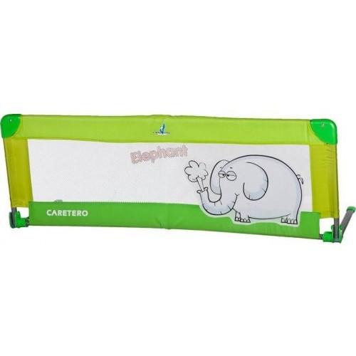 Mantinel do postýlky CARETERO Elephant zelený