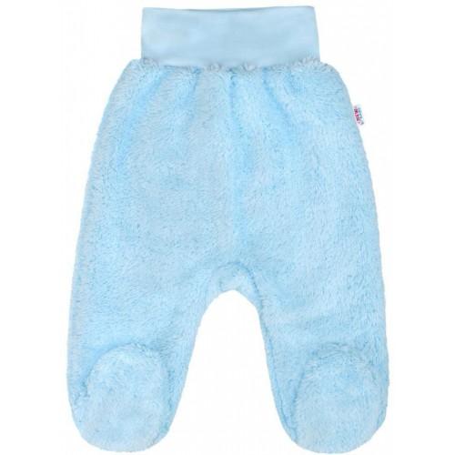 Zimní polodupačky New Baby Nice Bear modré Modrá 68 (4-6m)