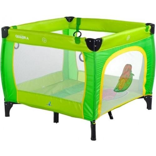 Dětská skládací ohrádka CARETERO Quadra green