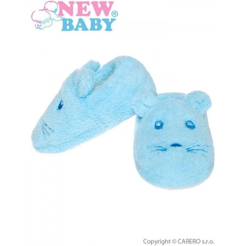 Kojenecké capáčky New Baby modré Modrá 6-12 m