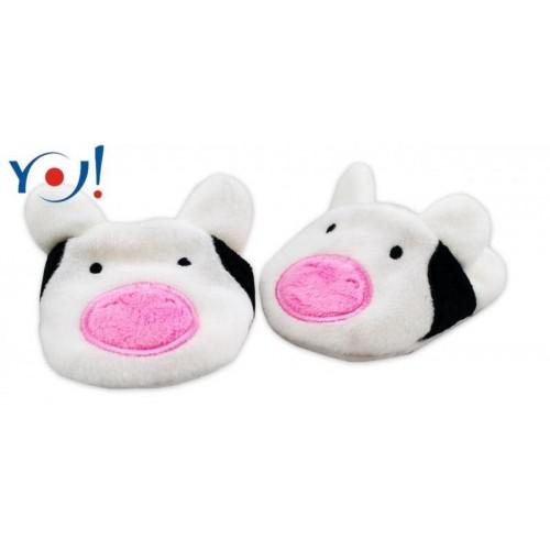YO ! Botičky/capáčky YO! Zvířátka - Kravička, 0/6 měsíců