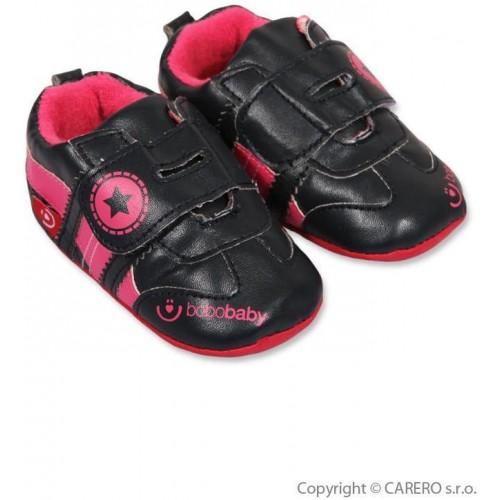 Dětské capáčky Bobo Baby 12-18m černé Černá 86 (12-18m)