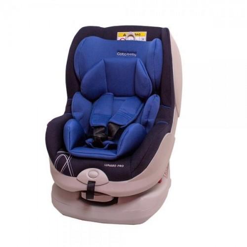 Autosedačka Coto Baby LUNARO PRO Isofix 0-18 kg modrá 2017