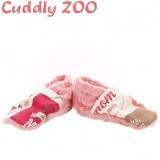 Bačkůrky Cuddly Zoo Máma S světle červená Červená