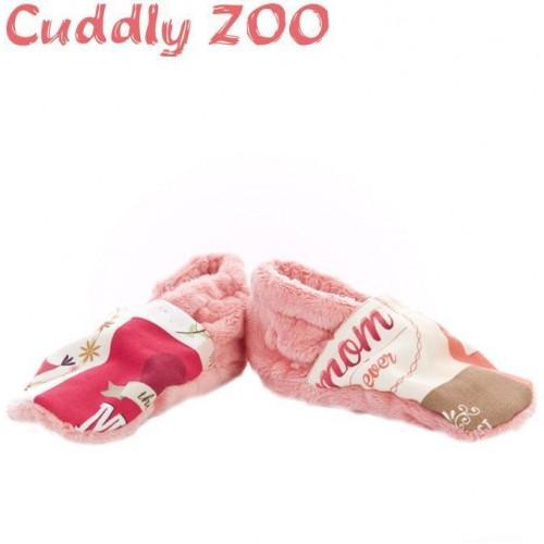 Bačkůrky Cuddly Zoo Máma M světle červená Červená