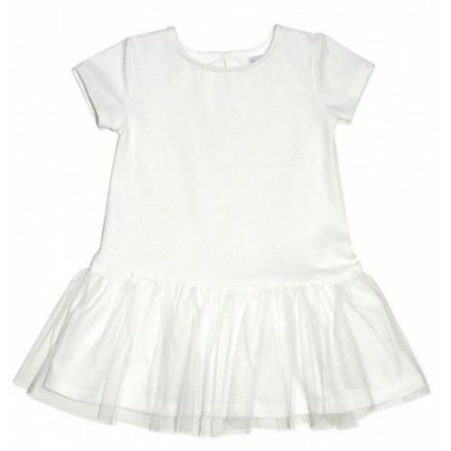 Dívčí šaty K-Baby - smetanové, vel. 98, 98 (24-36m)
