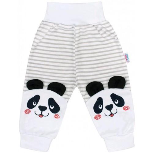 Kojenecké tepláčky New Baby Panda Šedá 74 (6-9m)