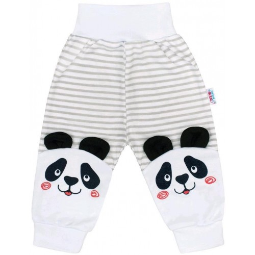 Kojenecké tepláčky New Baby Panda Šedá 80 (9-12m)