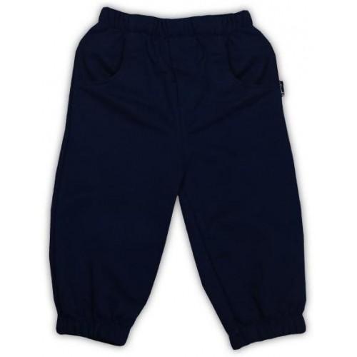 Tepláčky/kalhoty NICOL PIRÁTI - tmavě modrá, 86 (12-18m)