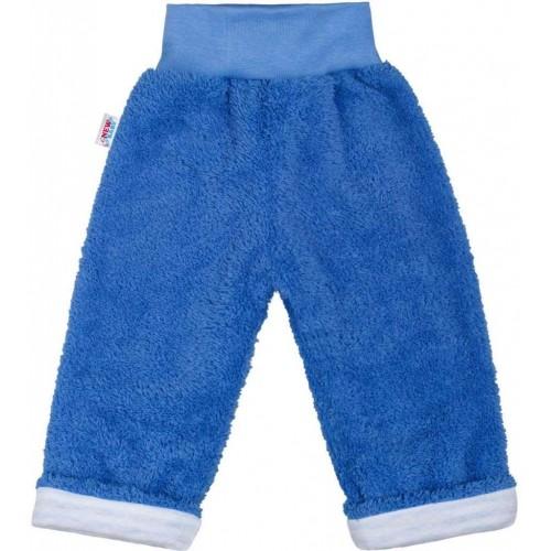 Zimní dětské tepláčky New Baby Ušáček modré Modrá 62 (3-6m)