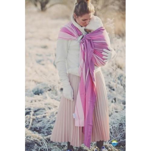 Little FROG Tkaný šátek na nošení dětí -  KUNZYT, XXL (44)