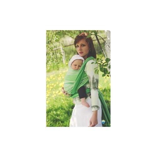 Little FROG Tkaný šátek na nošení dětí -  TSAVORITE, XL (42)