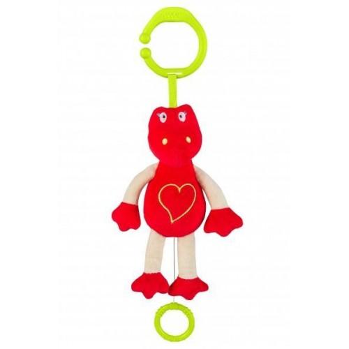 BabyOno Závěsná hračka s hudbou - Dino