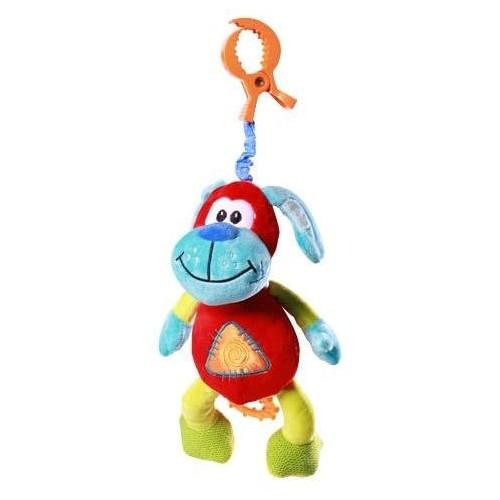 BabyOno Vibrující hračka s klipsou - Pejsek