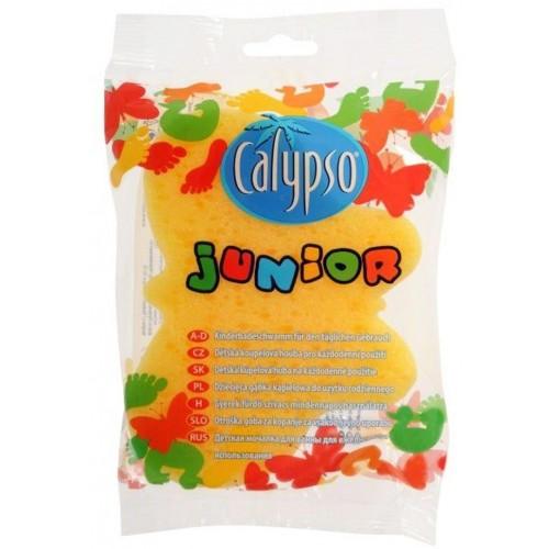 Koupelová houba Junior Animal Calypso žlutá