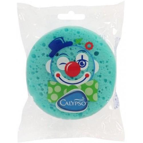 Koupelová houba Klaun Calypso zelená