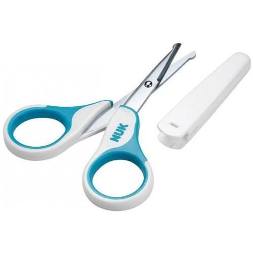 Dětské zdravotní nůžky s krytem Nuk modré