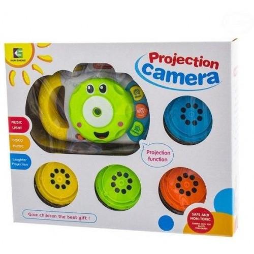 Euro Baby Edukační hračka Fotoaparát se zvukem a světlem