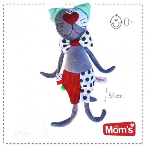 Hencz Toys Edukační hračka Hencz šusticí KOCOUR KROPEK