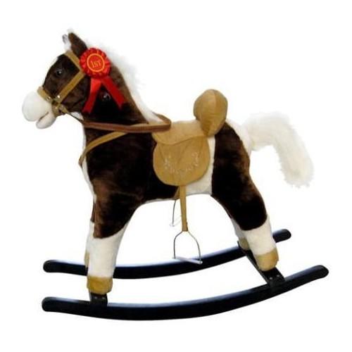 Houpací koník Milly Mally Mustang tmavě hnědý
