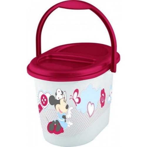 Keeeper Kbelík na plenky Minnie - růžový