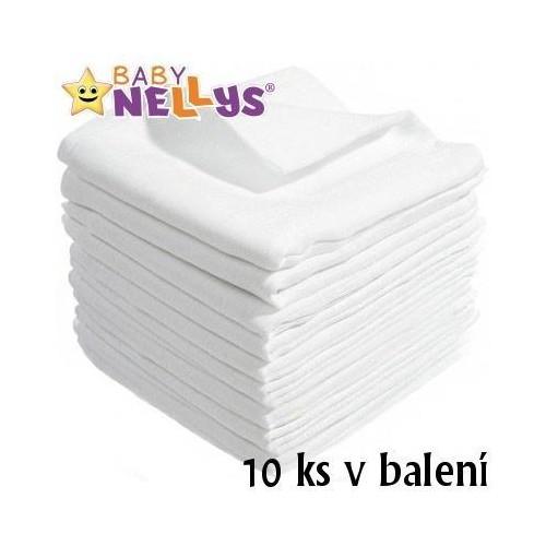 Kvalitní bavlněné pleny Baby Nellys - TETRA BASIC 80x80cm, 10ks v bal., K19