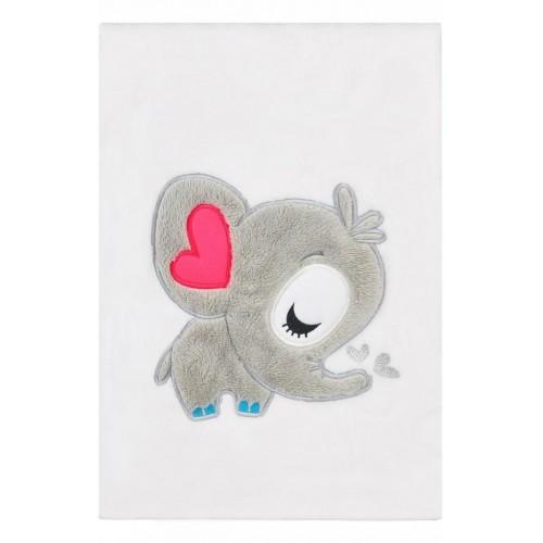 Dětská deka Koala Animals bílá
