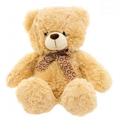 Euro Baby Plyšový sedící medvídek 47cm - béžový, 30 - 49 cm