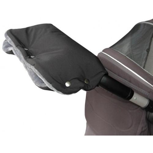 Emitex rukávník PREMIUM černý/šedý