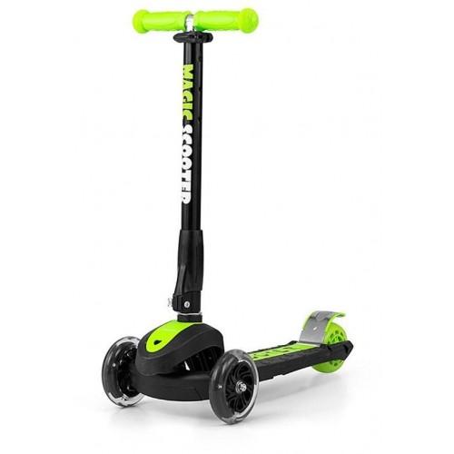 Dětská koloběžka Milly Mally Magic Scooter green