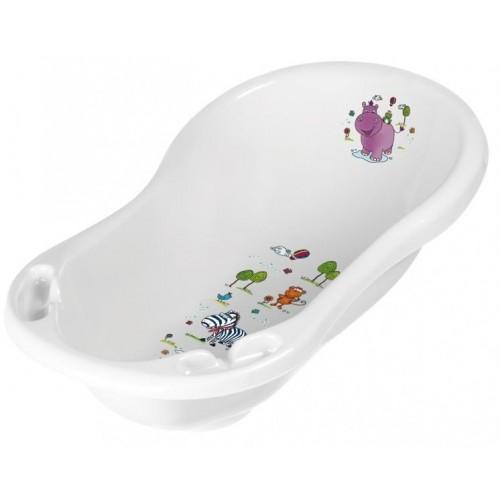 Keeeper Dětská vanička Hippo 84 cm - Bílá