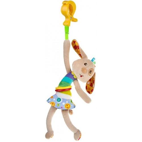 Dětská plyšová hračka s vibrací Akuku pejsek