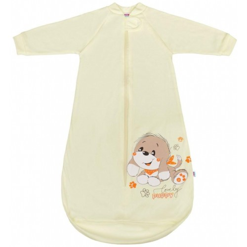 Kojenecký spací pytel New Baby pejsek béžový Béžová 86 (12-18m)