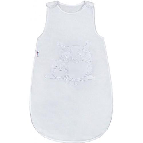 Spací pytel New Baby Sovičky bílý Bílá 86 (12-18m)