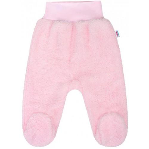 Zimní polodupačky New Baby Nice Bear růžové Růžová 80 (9-12m)