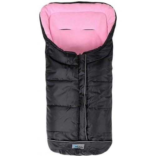 Fusak zimní Easy Lux černo - růžová