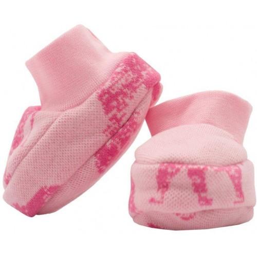 Zimní kojenecké capáčky Baby Service Sloni růžové Růžová Univerzální