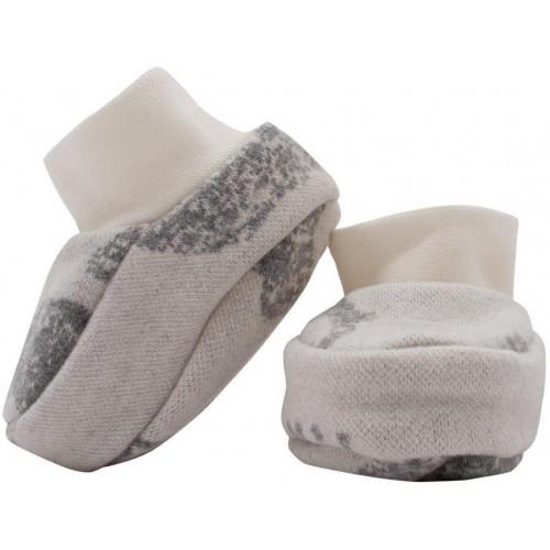Zimní kojenecké capáčky Baby Service Sloni šedé Šedá Univerzální